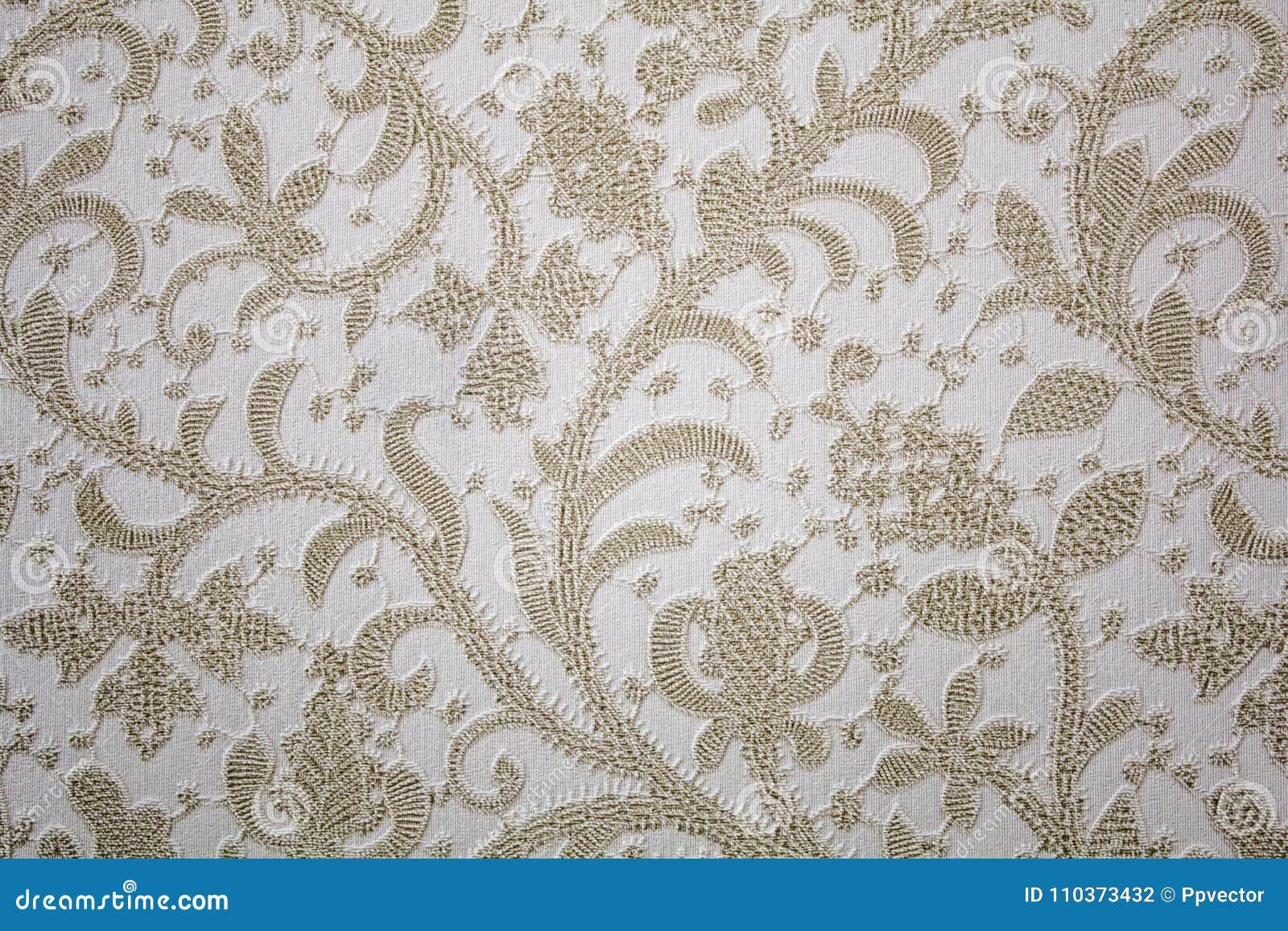 Flower pattern. Brown pattern
