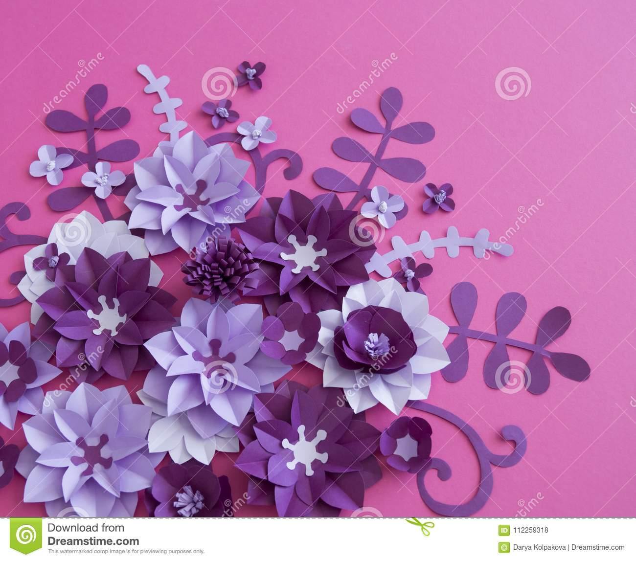 Flower Plant Floral Nature Designs Stock Photo Image Of Handmade