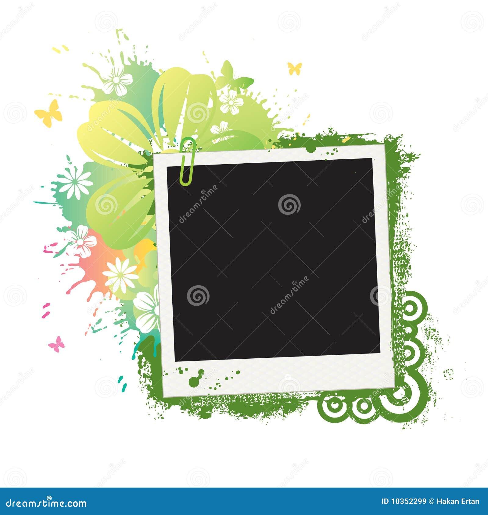 Flower Polaroid