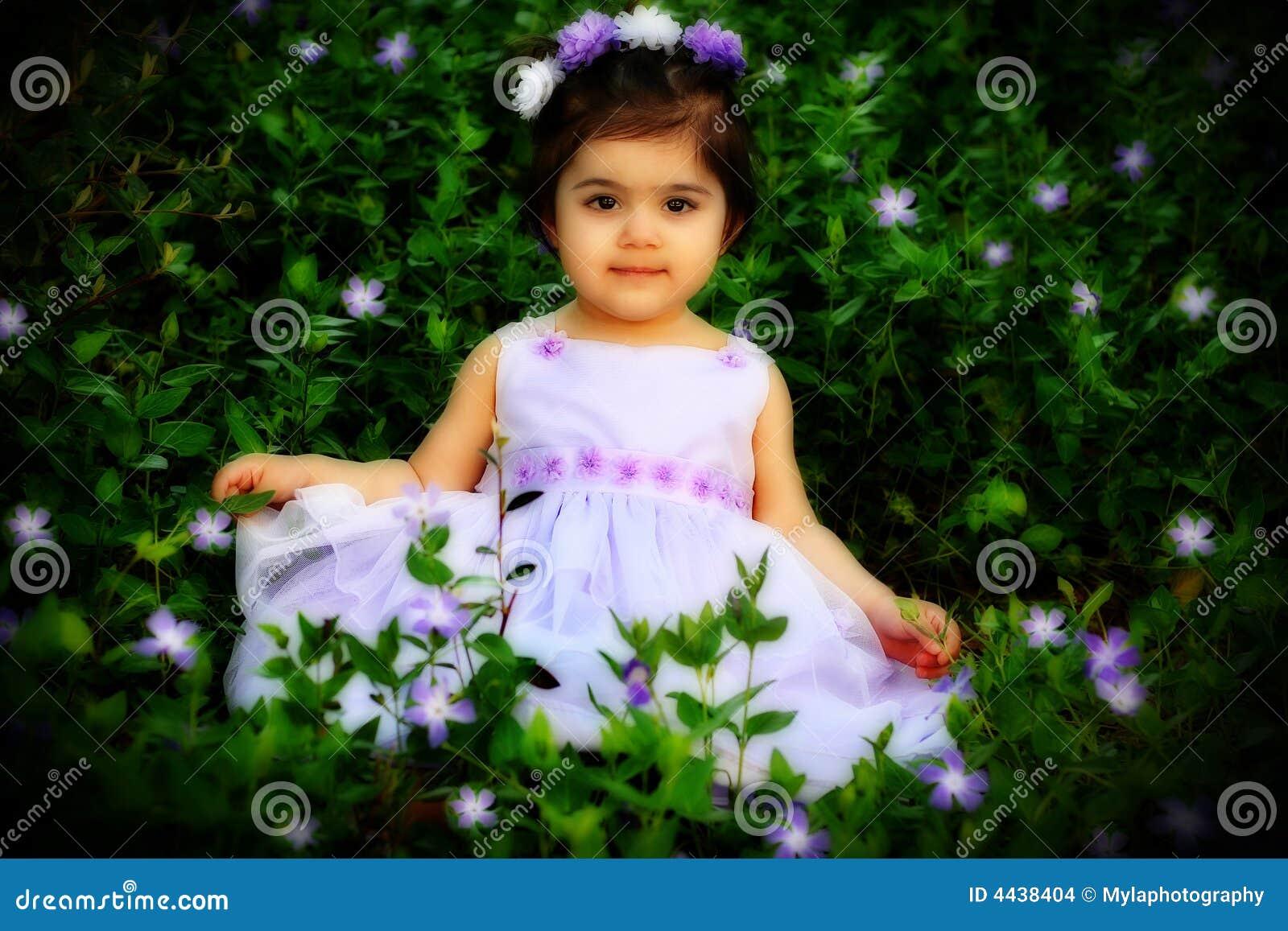 Flower Princess Stock Image