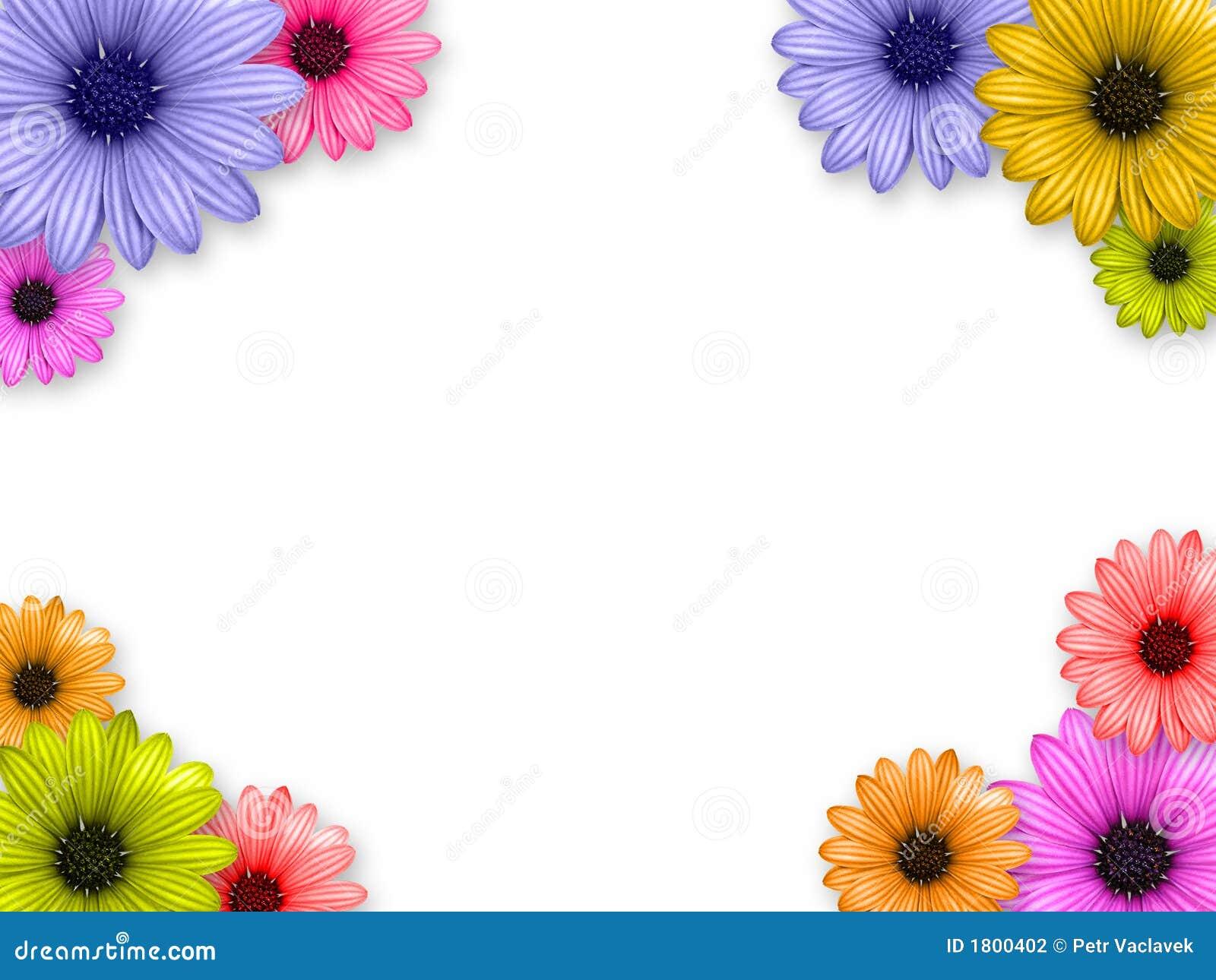 Flower\'s frame stock illustration. Illustration of leaf - 1800402