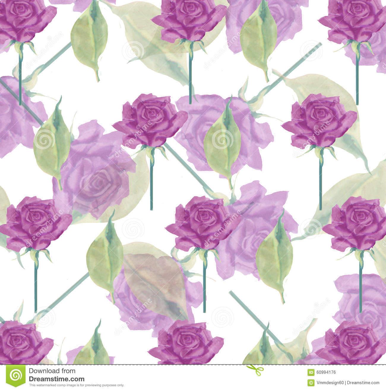 Flower Seamless Rose Wallpaper Background Stationery Wrapping Paper