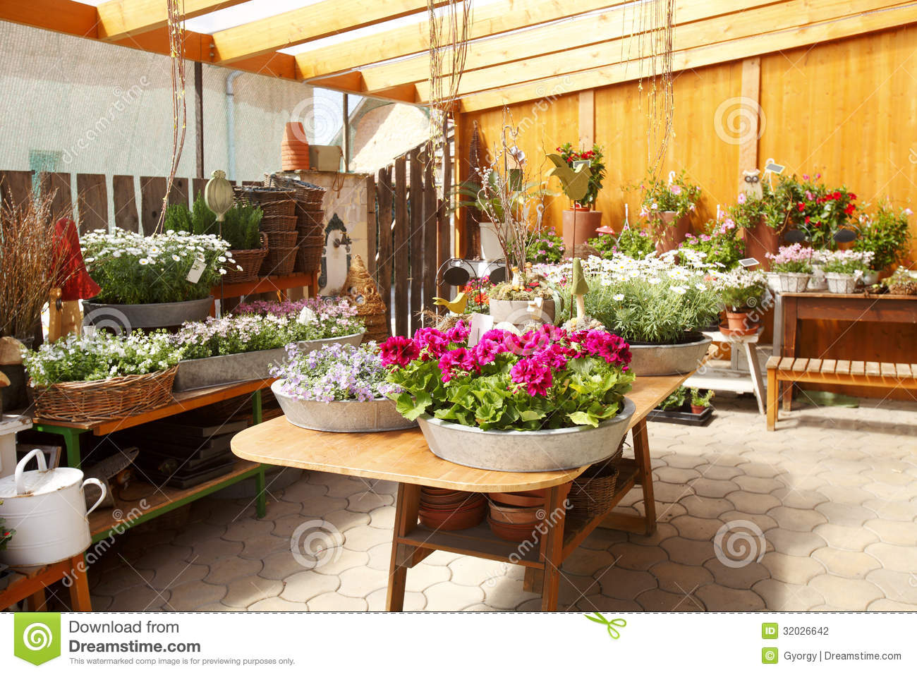 Flower Shop Interior Stock Photo Image Of Florist Image 32026642
