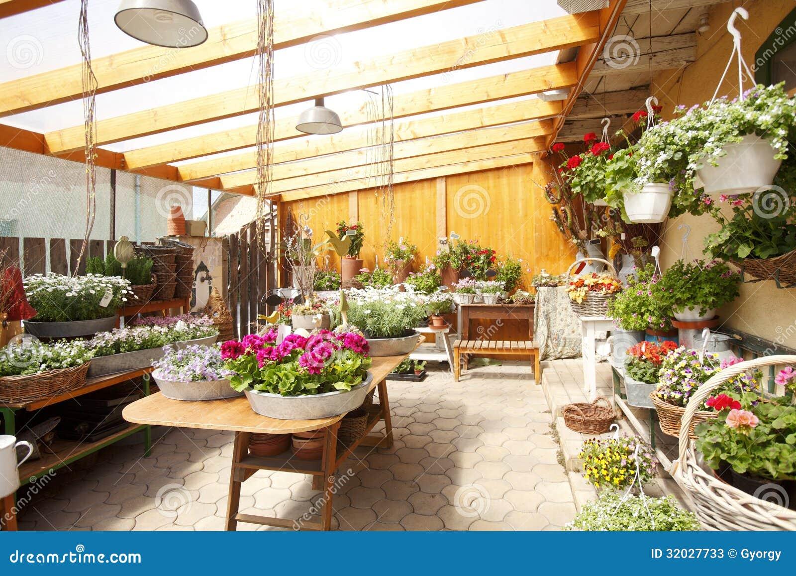 Flower Shop Interior Stock Photos Image 32027733