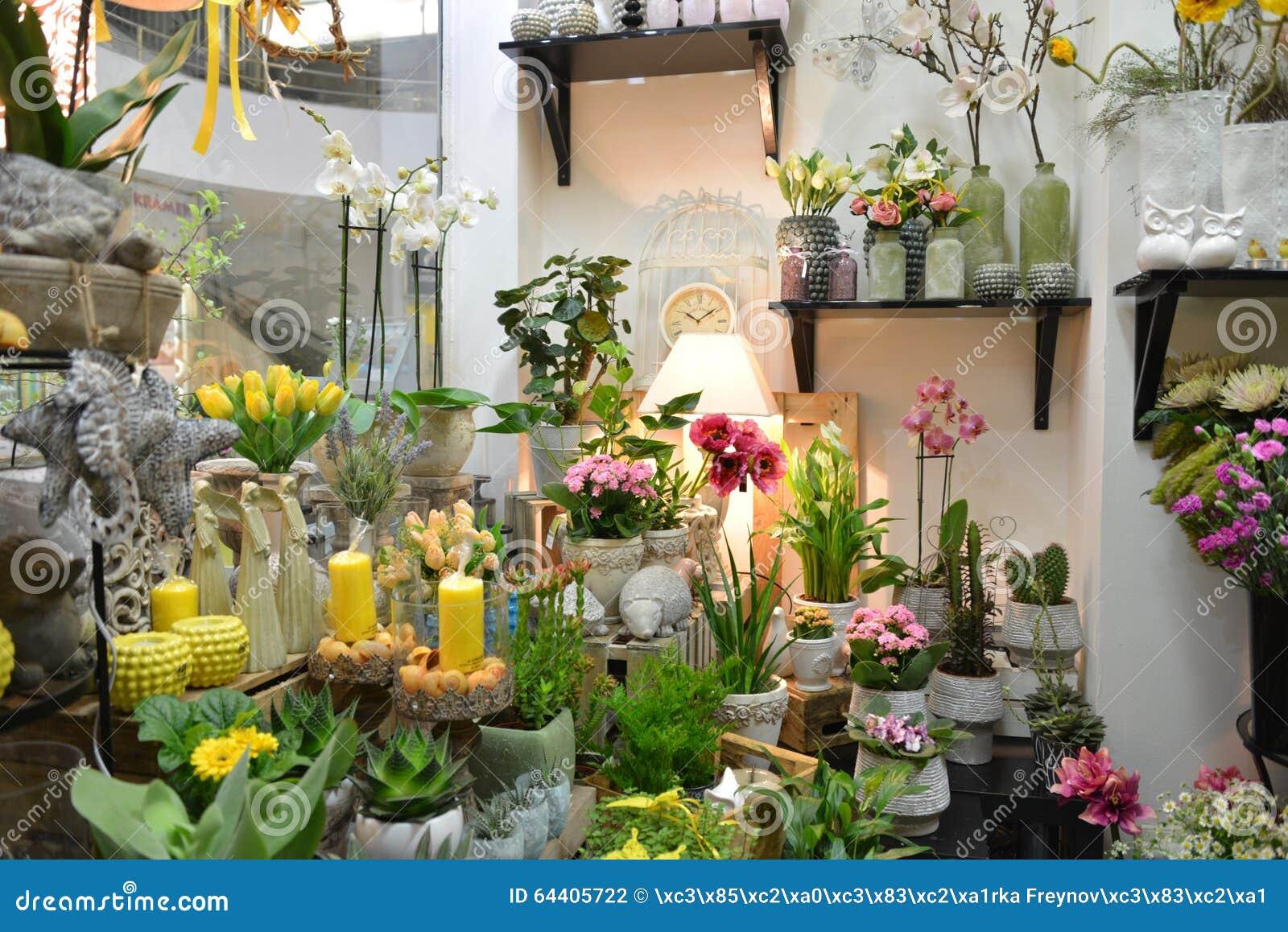 Flower shop stock photo image 64405722 for Designs east florist interior