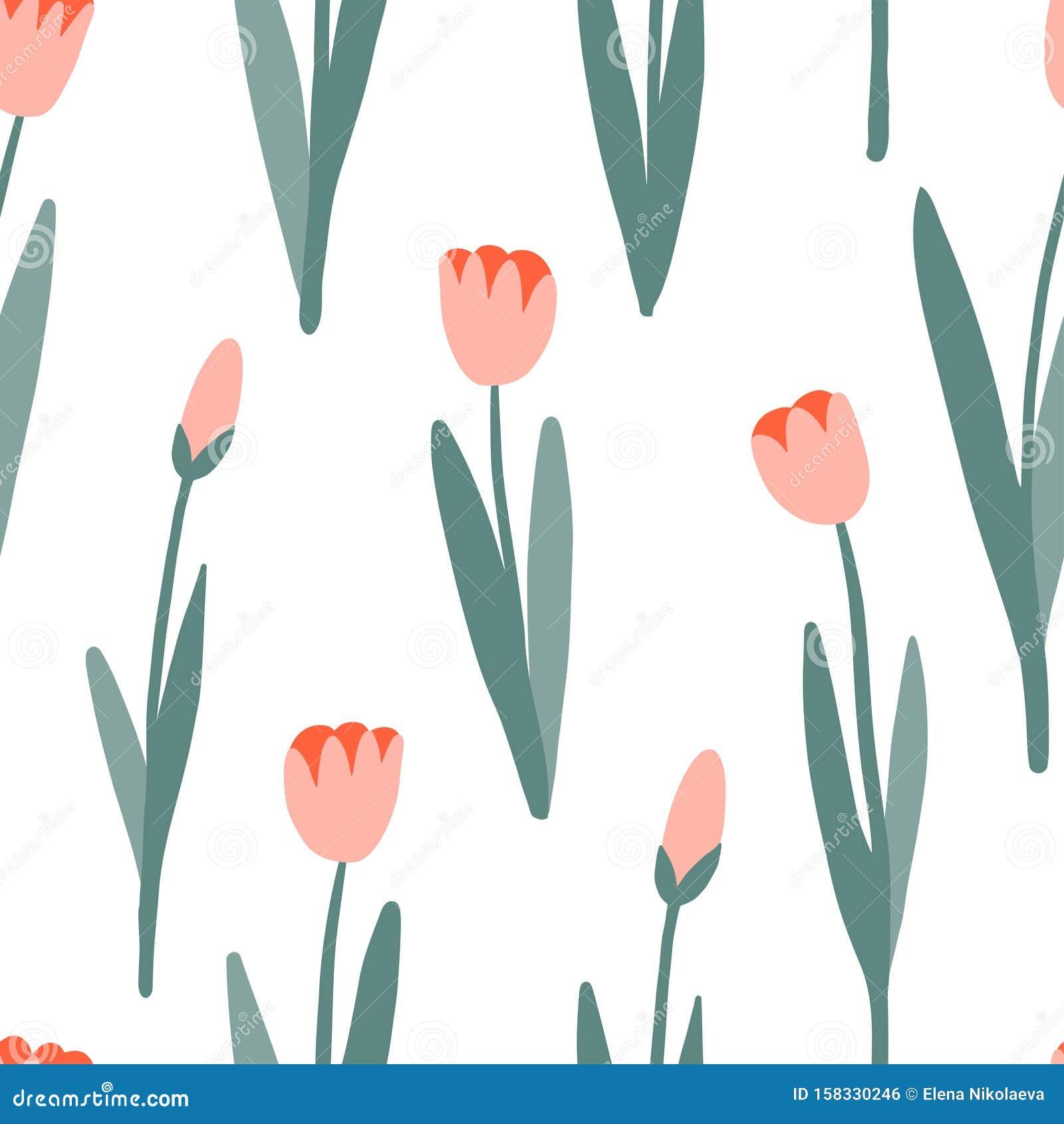 Flower Simple Seamless Pattern Spring Or Summer Graphic Design Stock Vector Illustration Of Decoration Design 158330246,Royal Blue Wedding Cupcake Designs