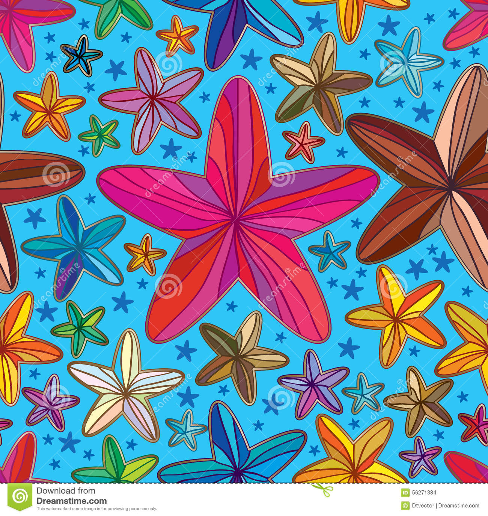 Line Art Flowers Husqvarna : Flower star shape line draw seamless pattern stock vector