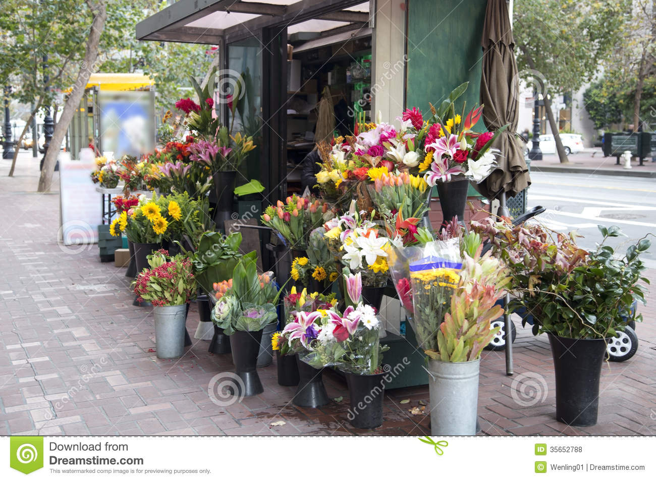 Flower Store Royalty Free Stock s Image