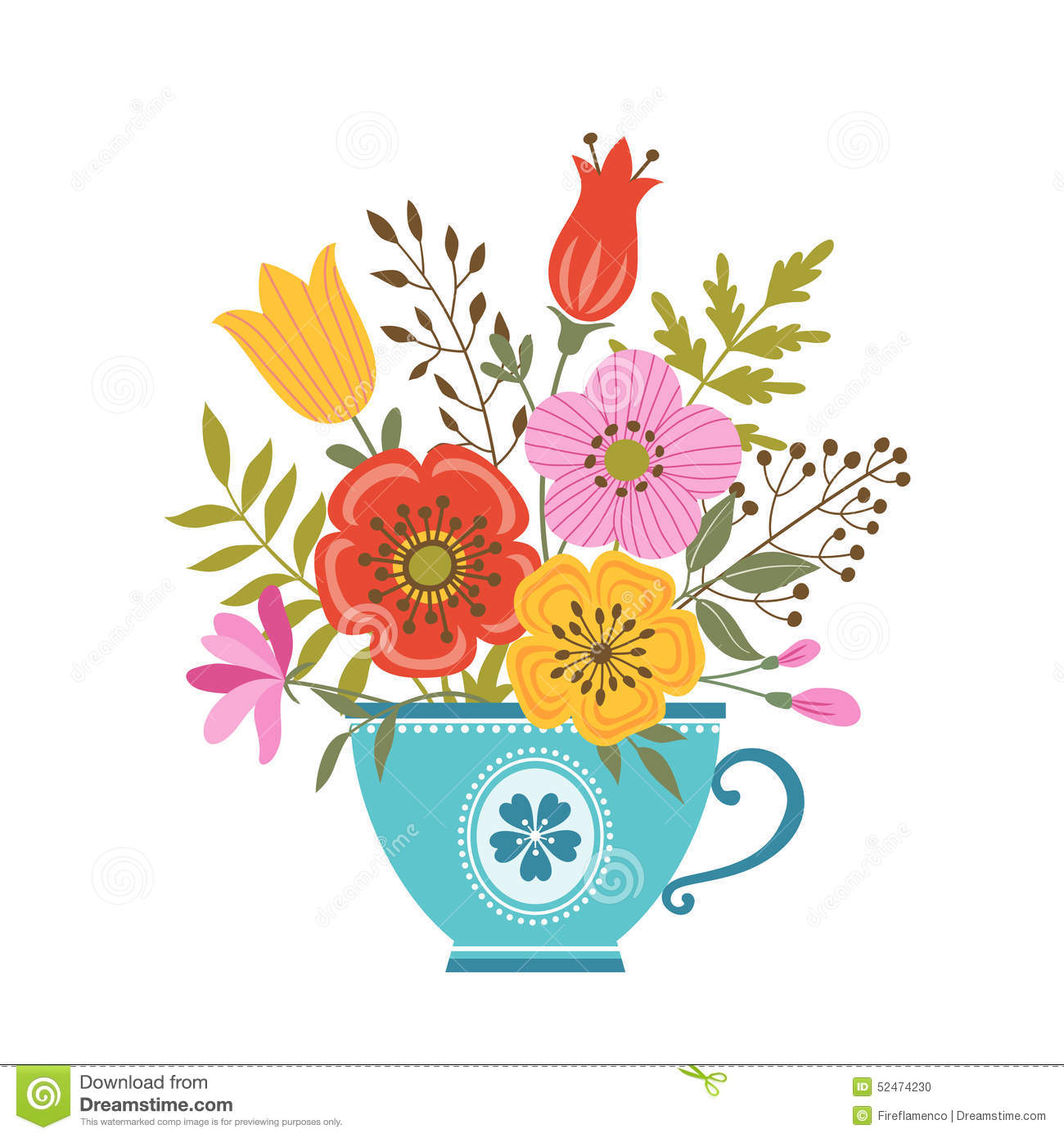Vector vintage tea cups free vector download 7429 Free