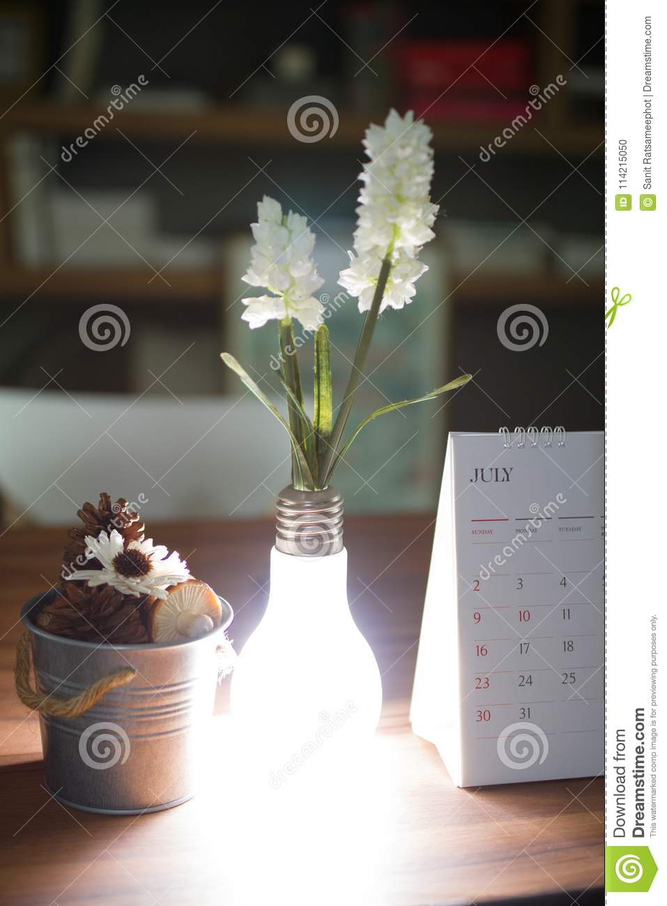 Flower vase like light bulbs. & Flower Vase Like Light Bulbs. Stock Photo - Image of design decor ...