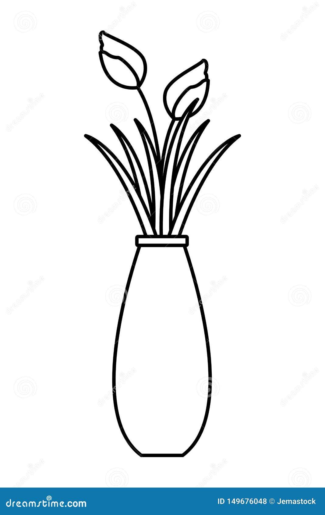 Flower Rose Vase Stock Illustrations 2 062 Flower Rose Vase Stock Illustrations Vectors Clipart Dreamstime