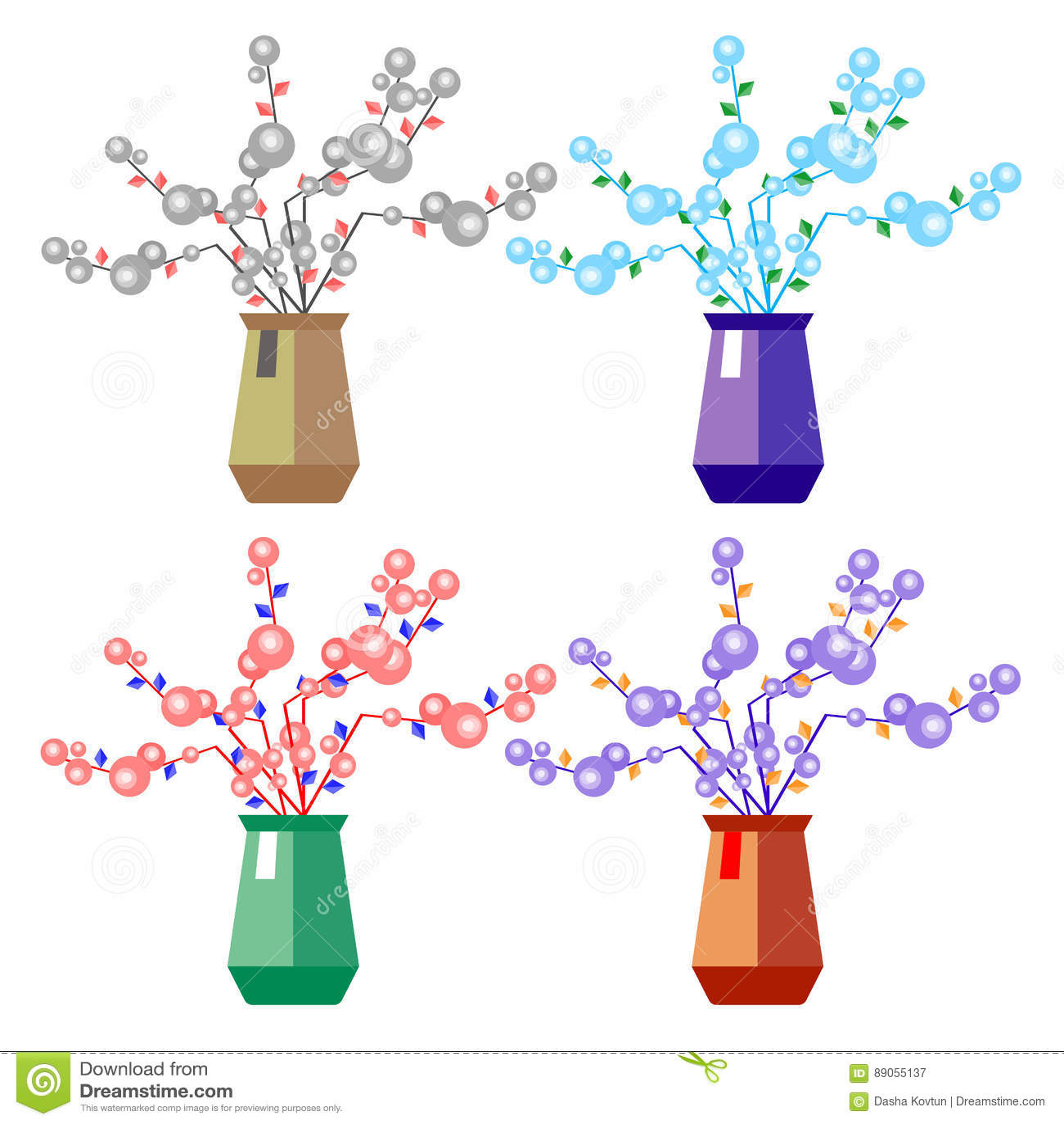 Flower Vase Vector Decoration Illustration Decorative Nature ... on books vector, basket vector, art vector, box vector, decor vector, candle vector, animals vector, roses vector, floral vector, pottery vector, mirror vector, beer mug vector, teapot vector,