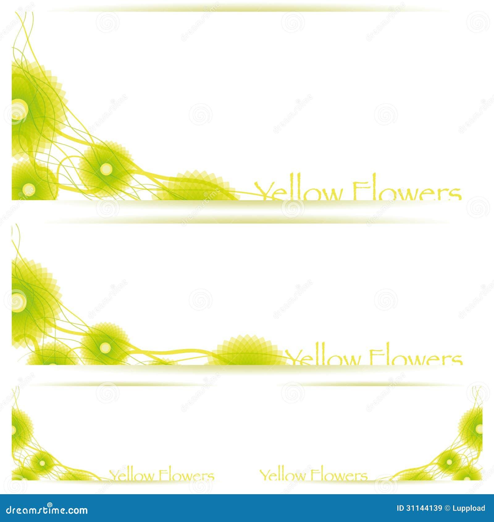 Flower vector background brochure template royalty free for Brochure background templates