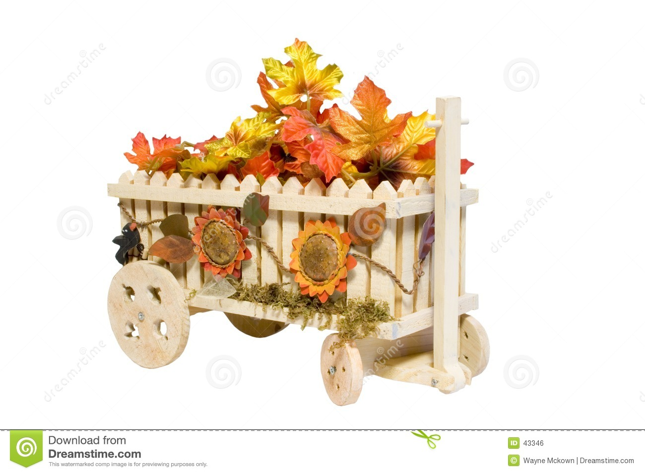 The Flower Wagon.