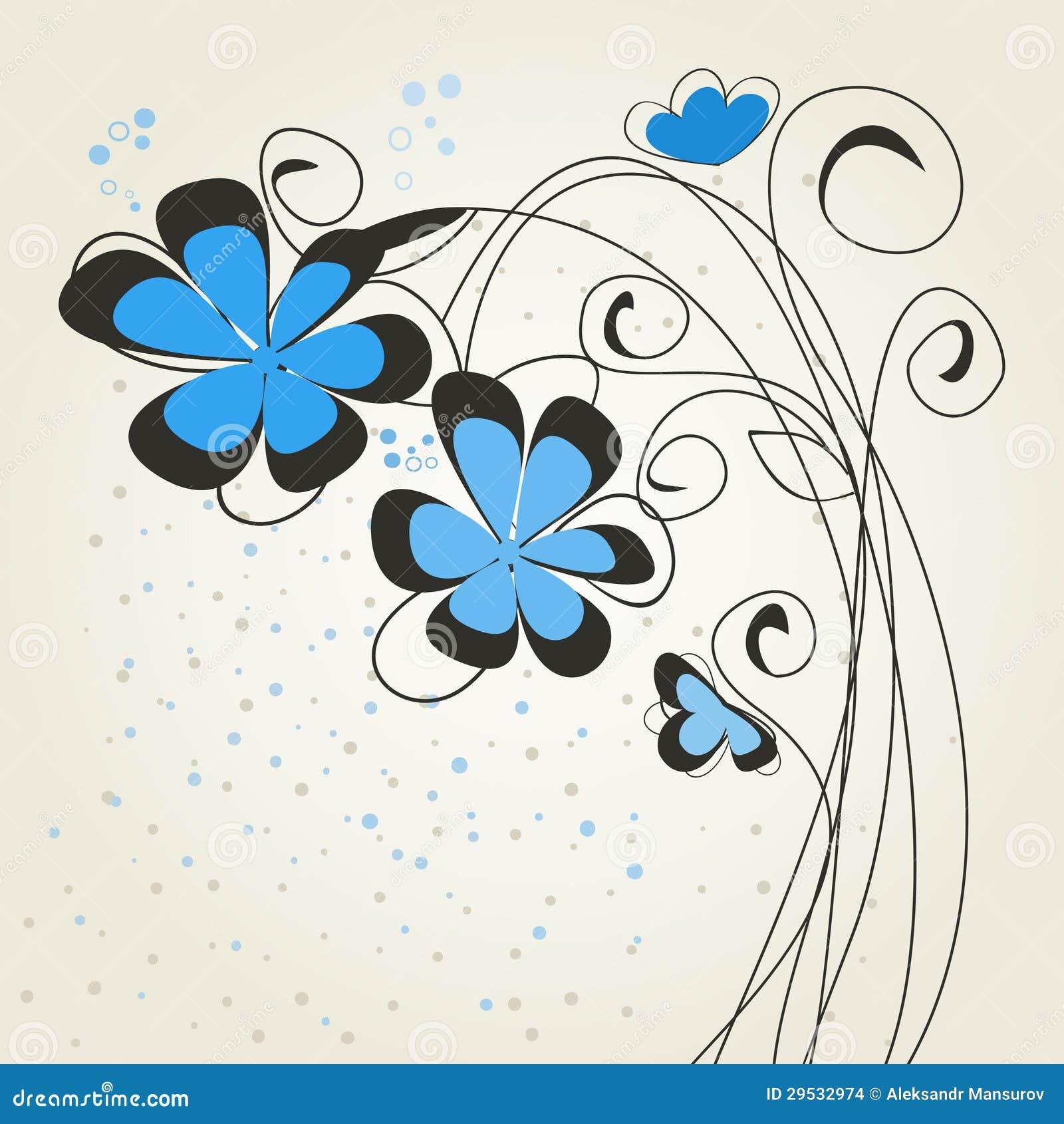Flower2 azul