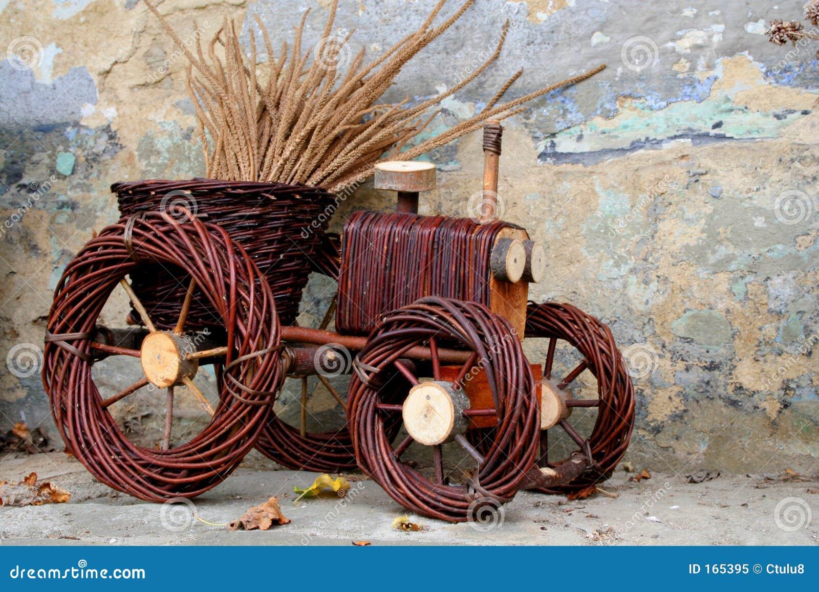 Flowerpot - tractor