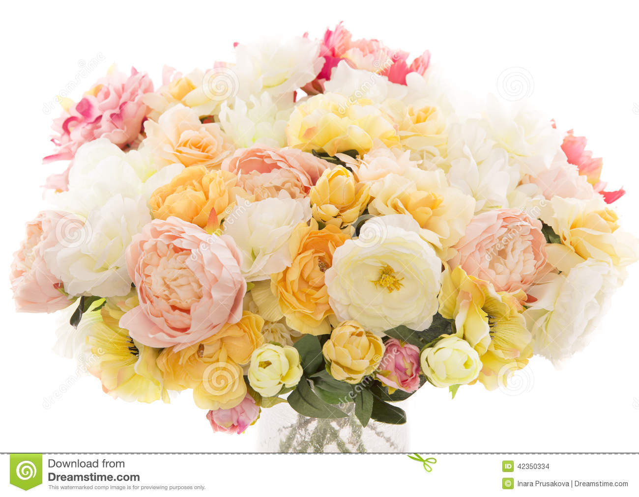 Flowers bouquet peony pastel floral colors white for Pastel colored flower arrangements