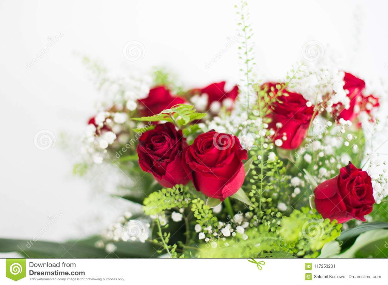 Flowers bouquet red roses on white background thank you and love download flowers bouquet red roses on white background thank you and love card stock image izmirmasajfo