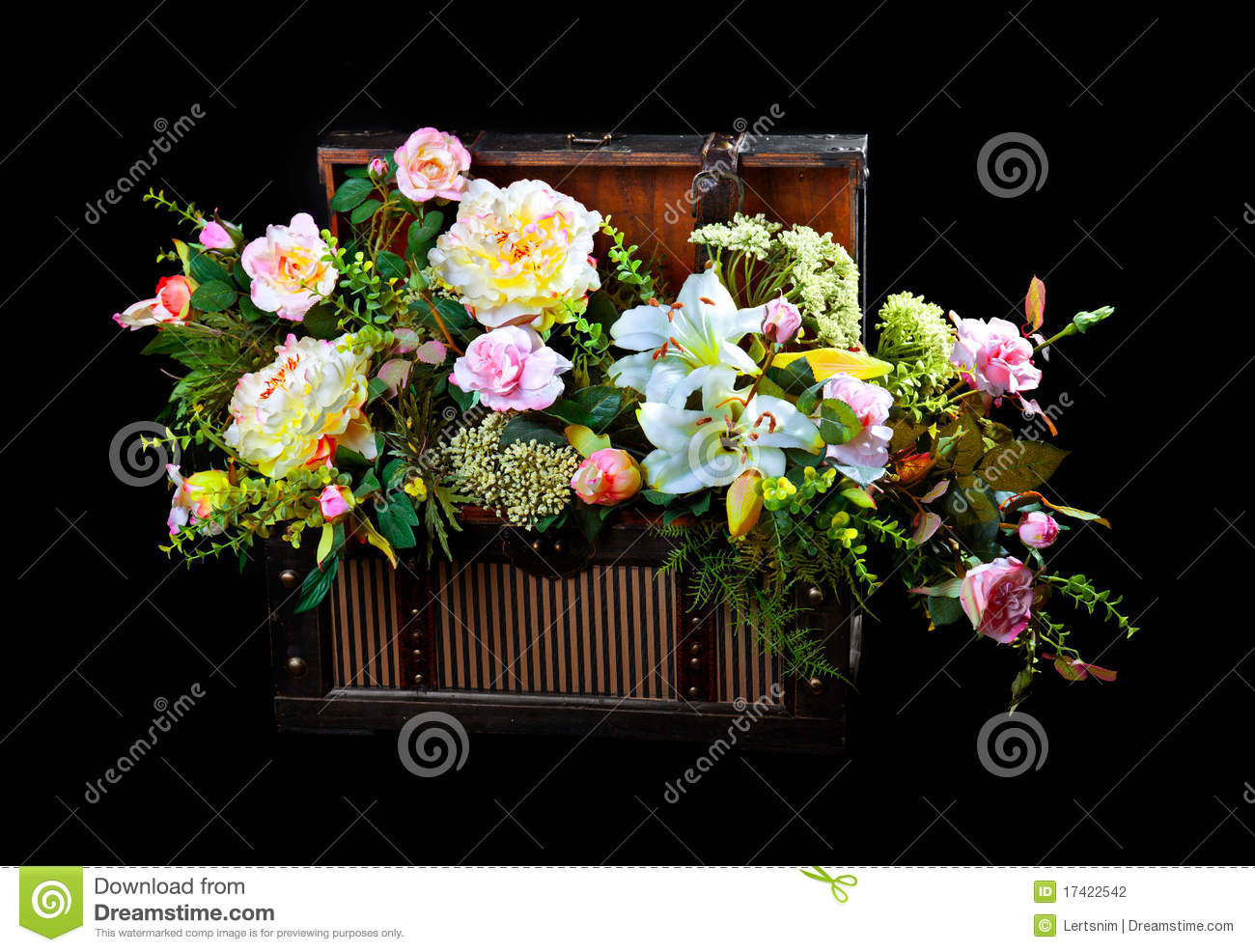 Flowers In A Box Stock graphy Image