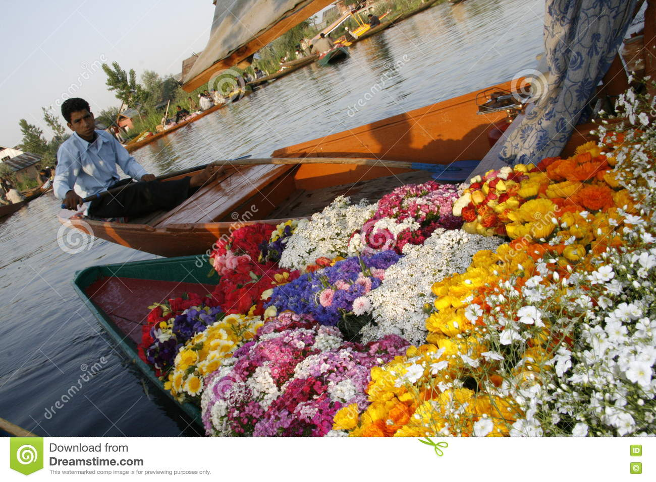 Flowers colorful boat beauty river editorial image image of download flowers colorful boat beauty river editorial image image of flowers izmirmasajfo