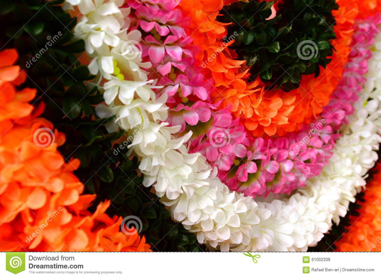 Indian Festival Decoration Flowers Decoration For Indian Festival Stock Photo Image 61001970