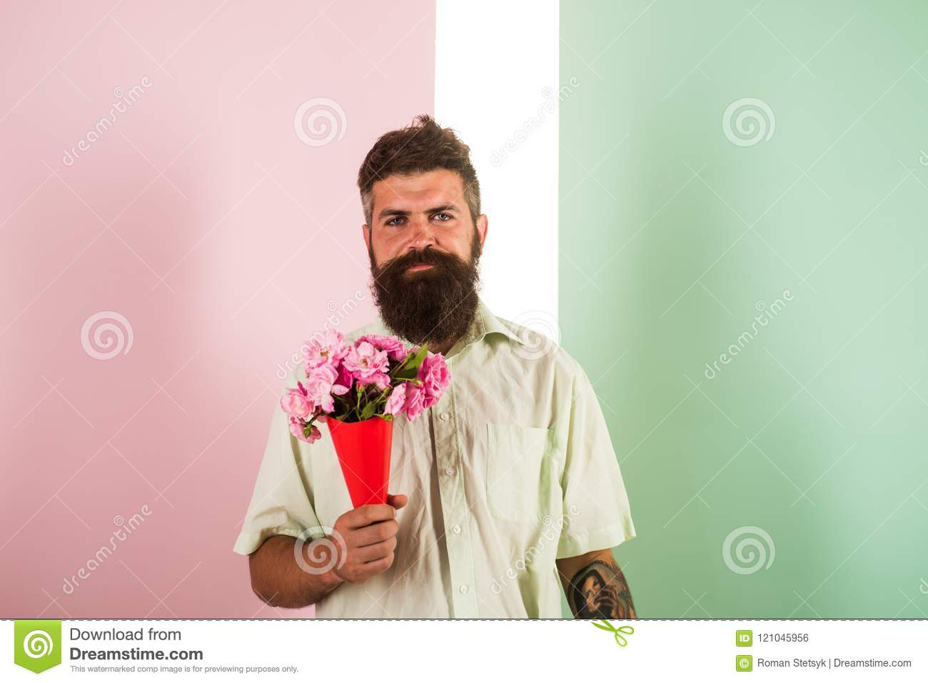 Dating a hipster guy with beard