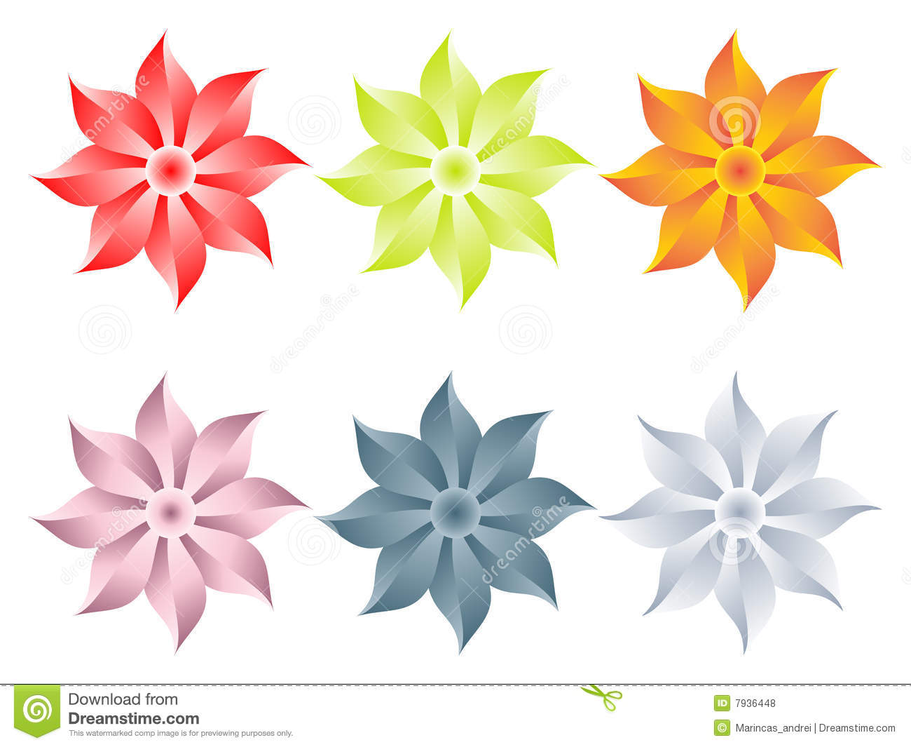 Flowers different colors royalty free stock photos image for What makes flowers different colors