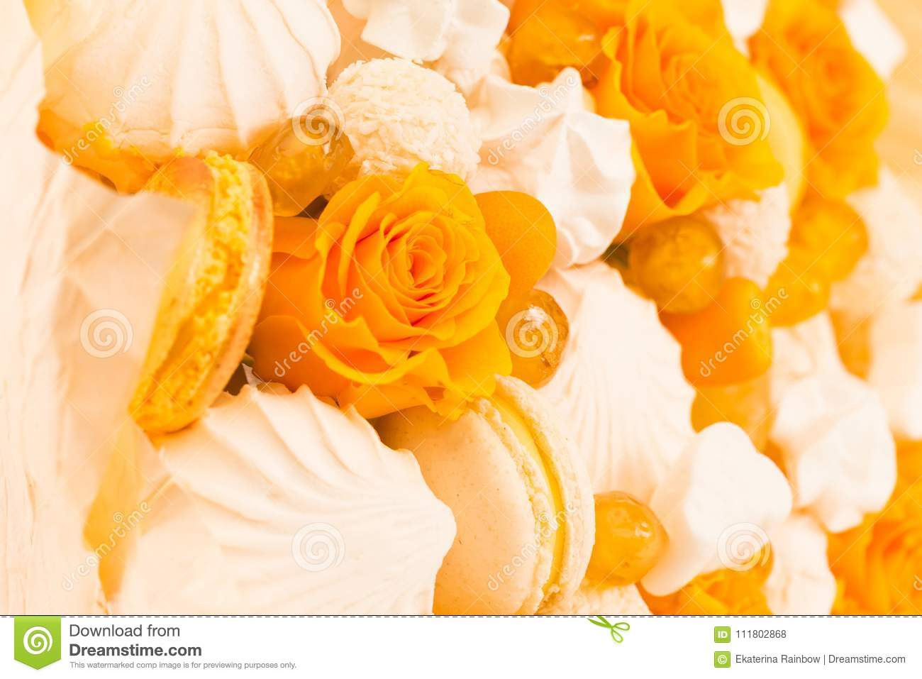 Flowers fruit bouquet white isolated yellow rose marshmallow download flowers fruit bouquet white isolated yellow rose marshmallow stock photo izmirmasajfo