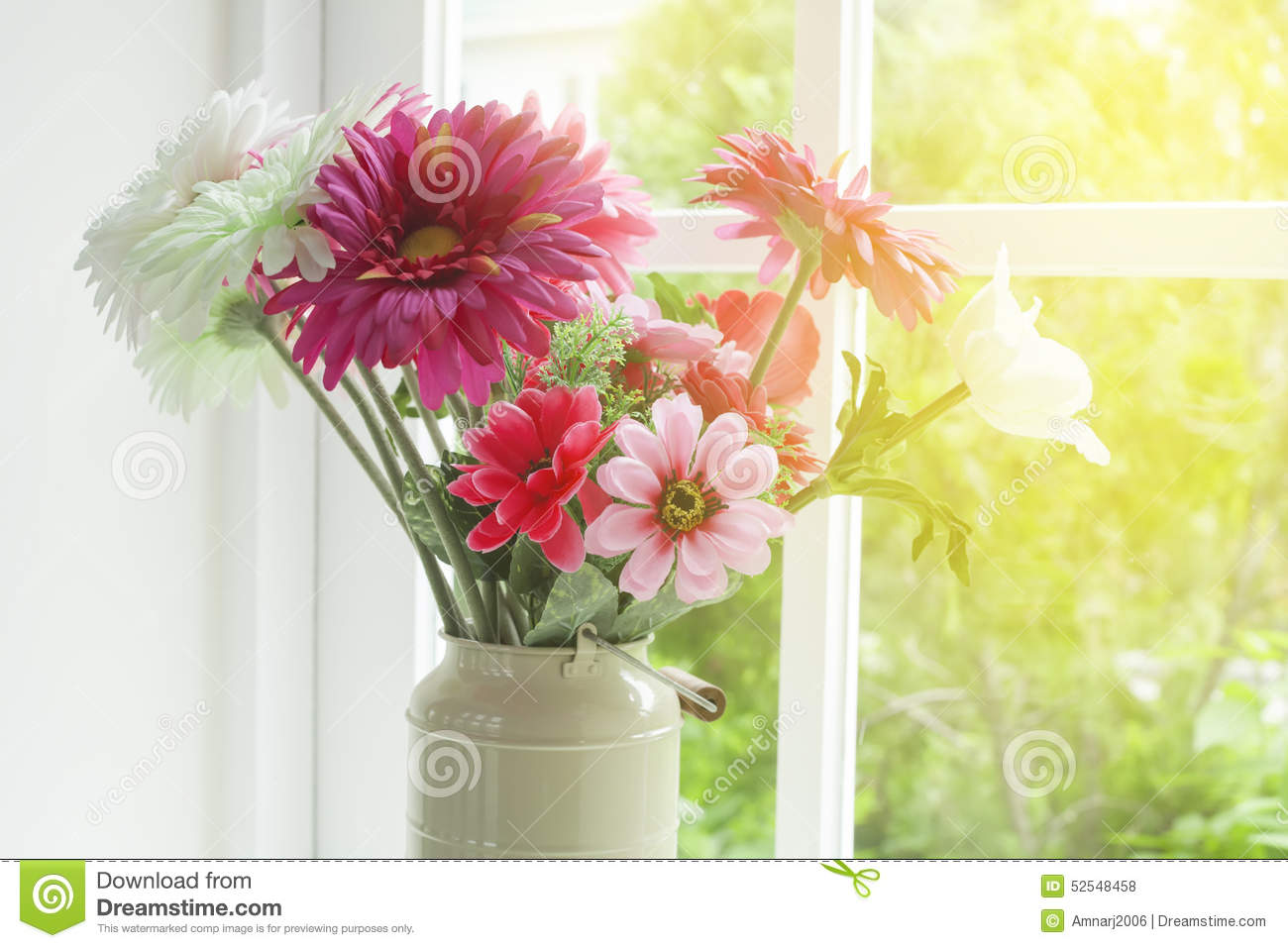 Flowers in glass vase stock photo image of interior 52548458 flowers in glass vase reviewsmspy