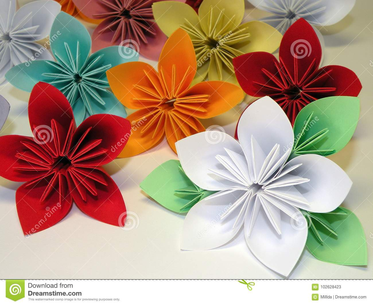 Colorful origami flowers stock image image of different 102628423 download colorful origami flowers stock image image of different 102628423 mightylinksfo