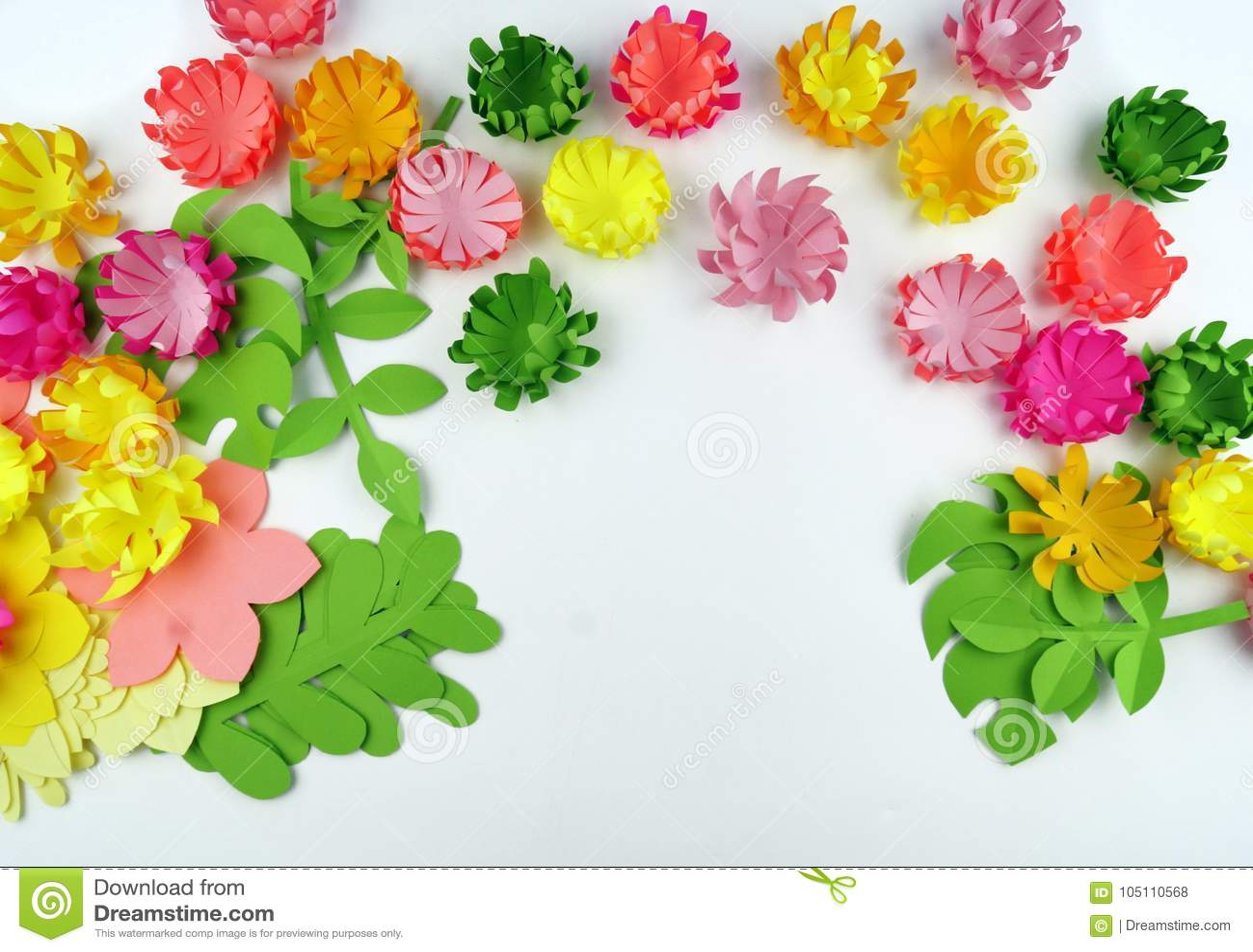 Flowers made of paperper flowerspring stock photo image of download flowers made of paperper flowerspring stock photo image of mightylinksfo