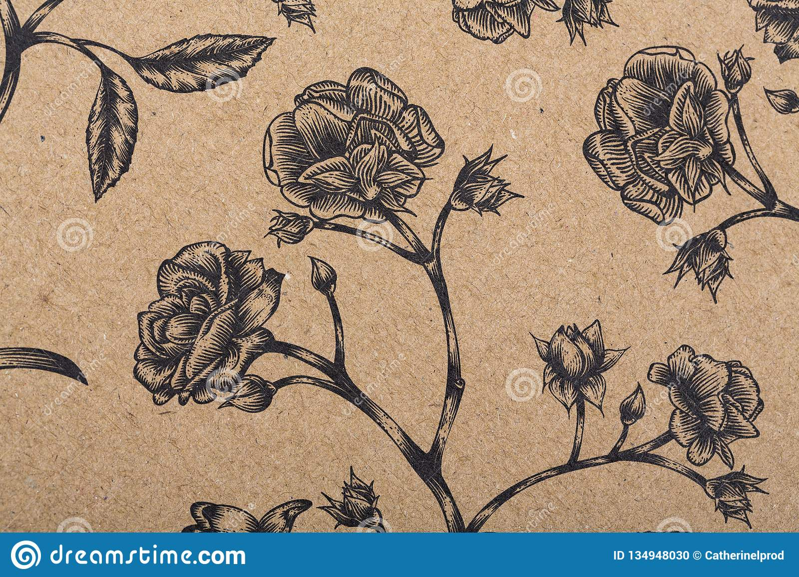 Flowers Pattern Paper For Textile Wallpaper Pattern Fills Covers