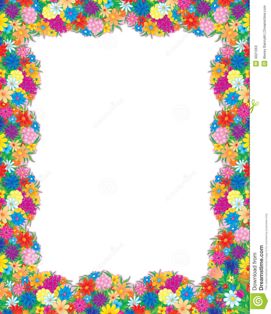 flowers photo frame stock illustration image of bouquet bouquet of flowers clip art images bouquet of flowers clip art blanks