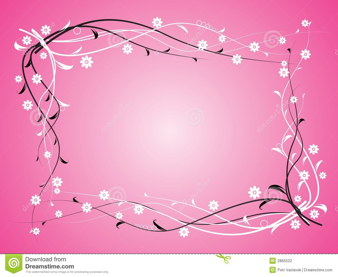Flowers on pink background stock vector illustration of marguerite flowers on pink background mightylinksfo