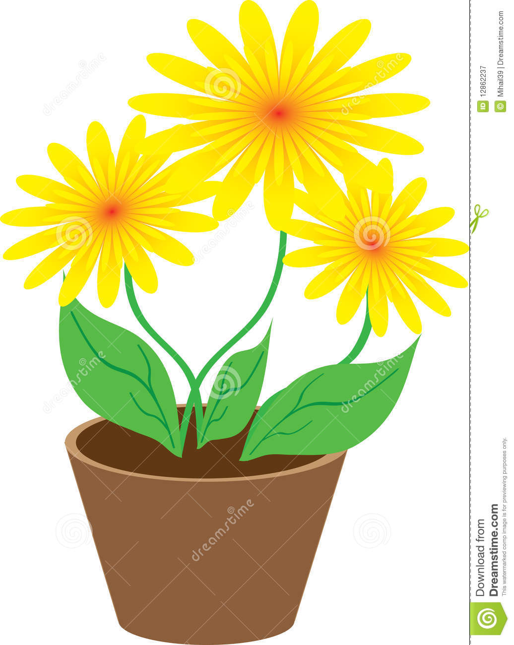 attractive flowers in a pot Part - 3: attractive flowers in a pot nice design