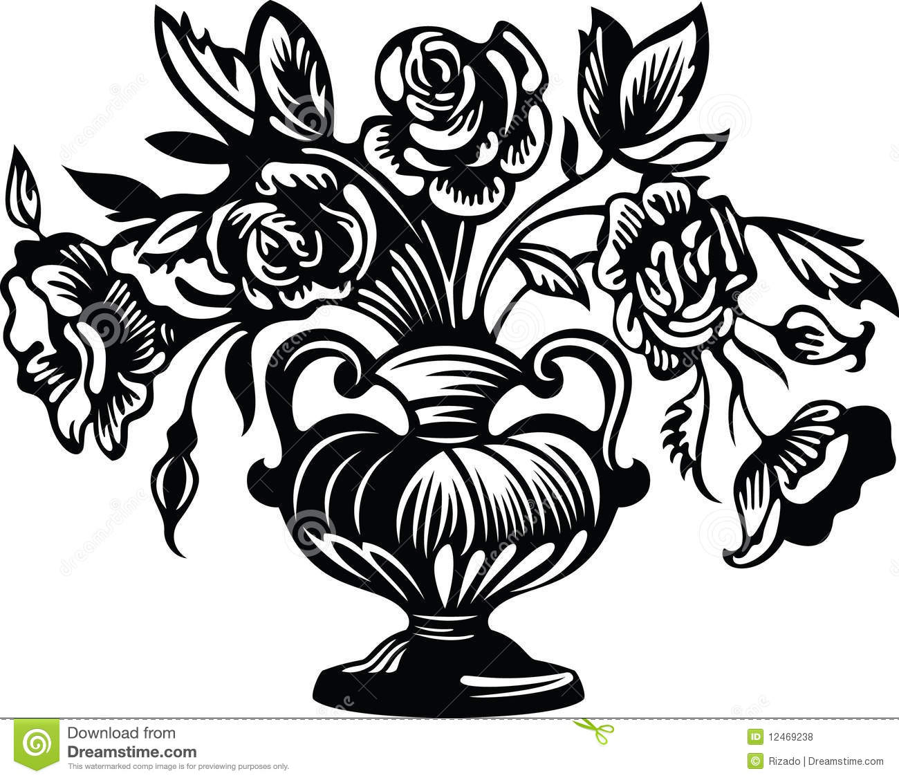 also OldDesignShop FloweringPlumBranch moreover can stock photo csp6653714 besides Lilies flower coloring pages 3 as well  besides glass 20pattern 20165 moreover roses in addition flower coloring pages for adults abstract gianfreda 24198 moreover  together with ramo con rosas1 furthermore a simple fairy    by Two T. on vase roses flowers coloring pages