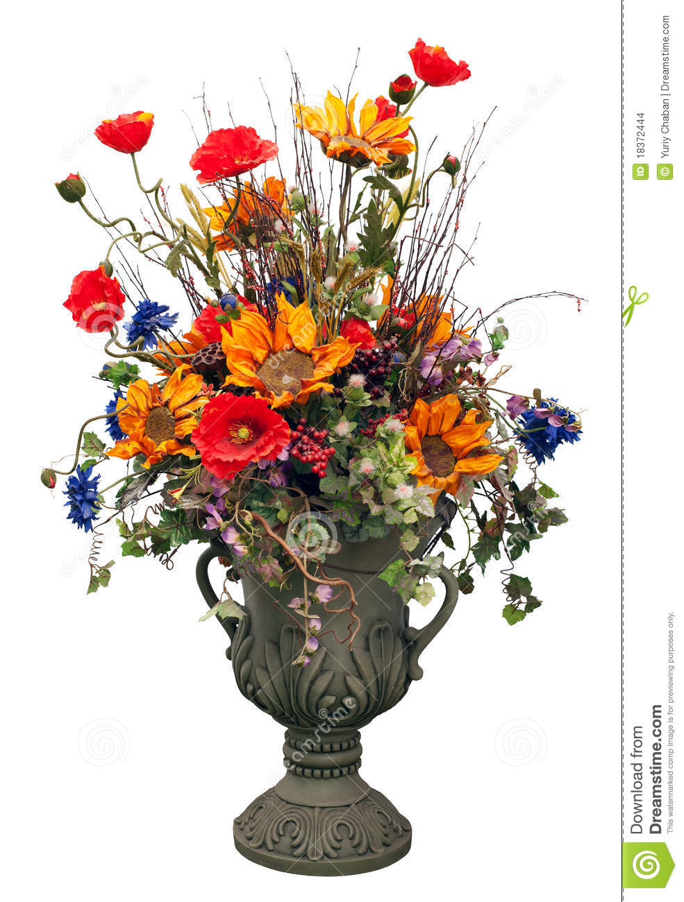 Flowers In Vase Stock Images - Image: 18372444