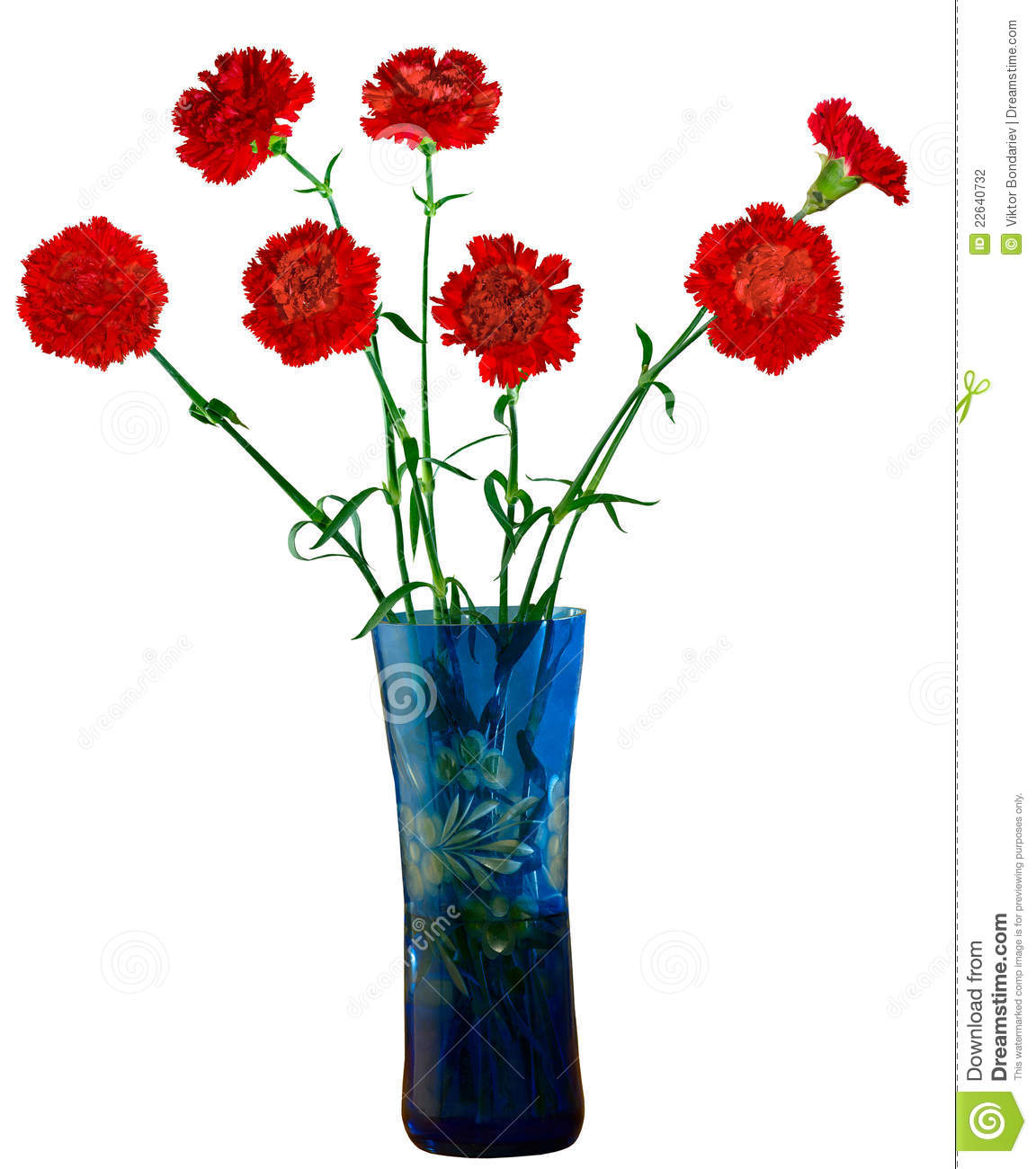 Flowers in a vase stock photo. Image of vase, decoration ...