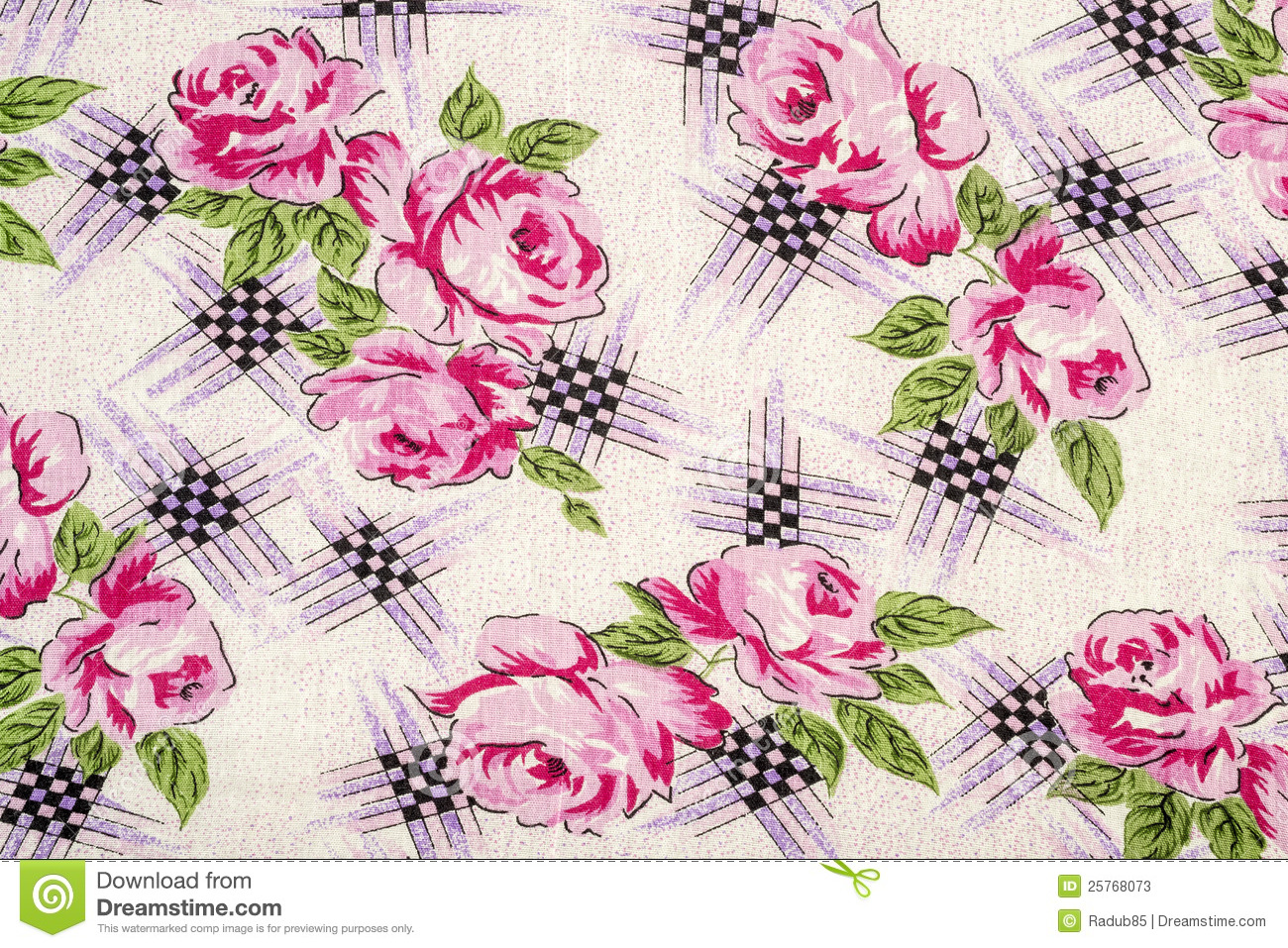 flowery table cloth stock image image of checkers covers 25768073