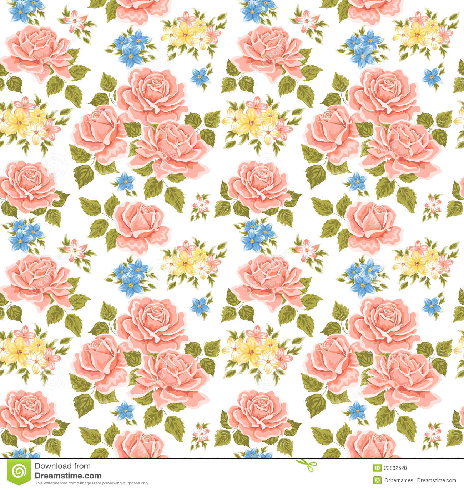 flowery wallpaper background stock photo image 22892620