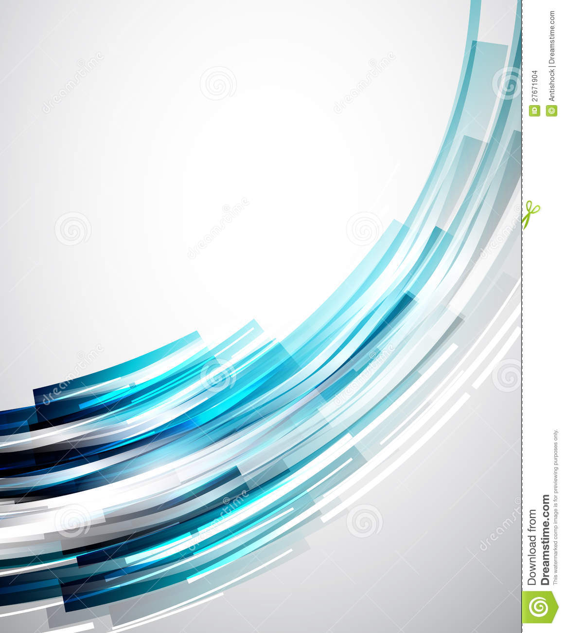 Flowing Lines Abstract Vector Background Stock Images