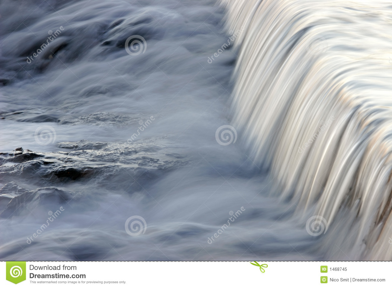 Flowing water taken with a slow shutter speed on a rocky beach.: dreamstime.com/royalty-free-stock-photo-flowing-water-image1468745