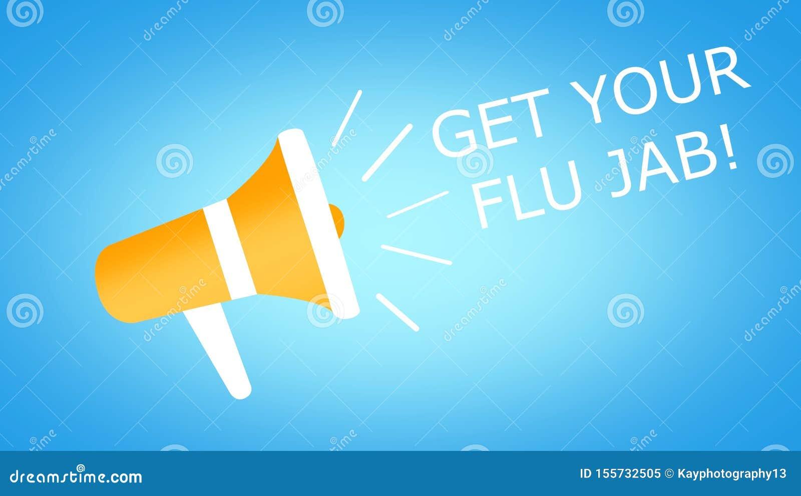 Flu Awareness Campaign Banner Design Illustration Stock Illustration Illustration Of Flushot Care 155732505