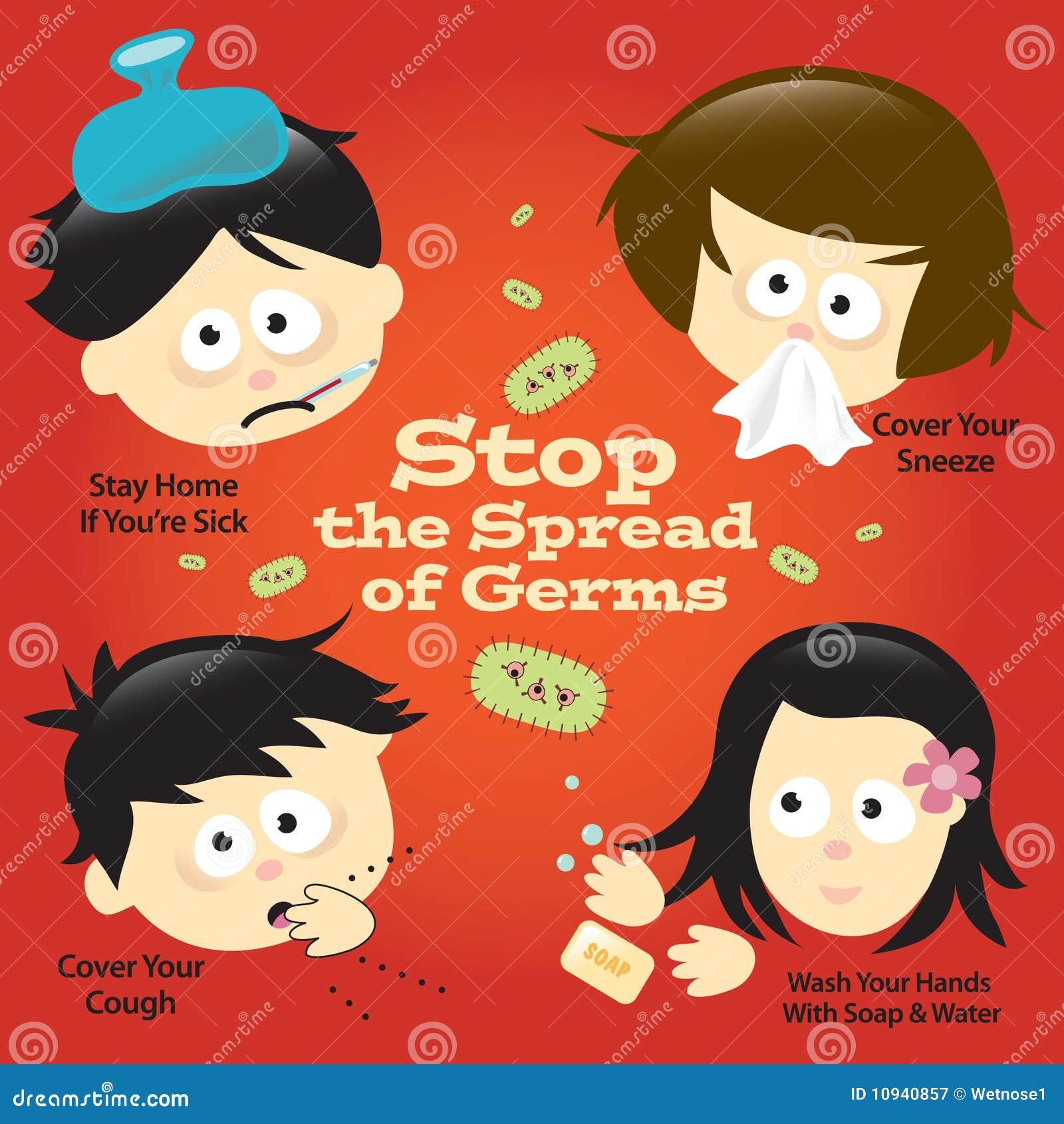 Flu Prevention Poster Sign  H1n1 Prevention Poster
