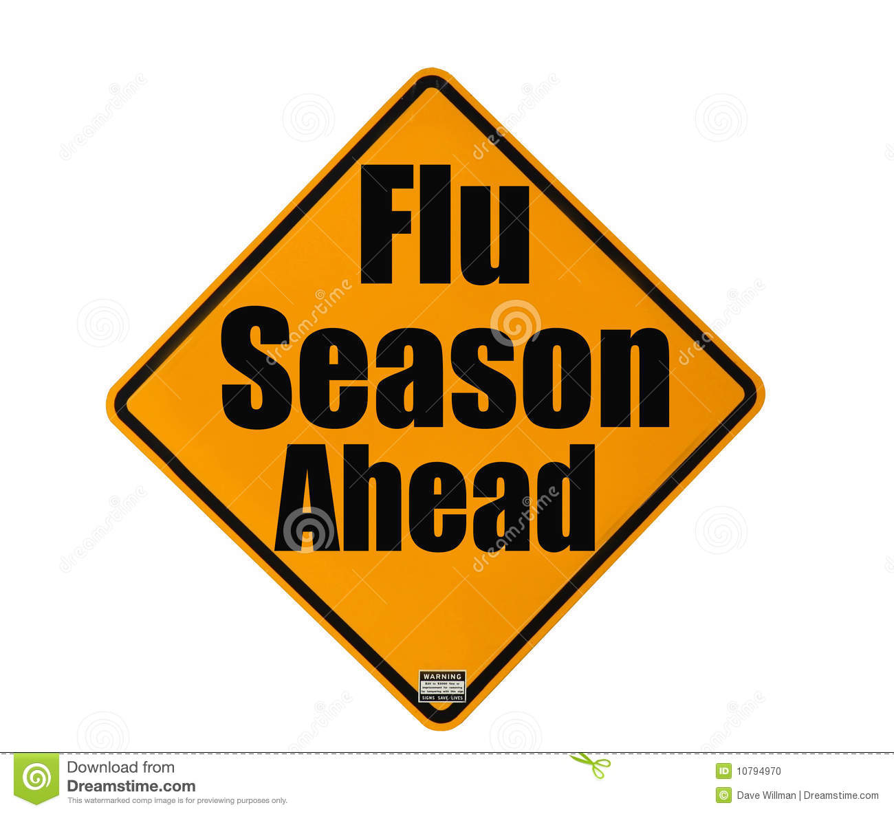 Flu Season Warning