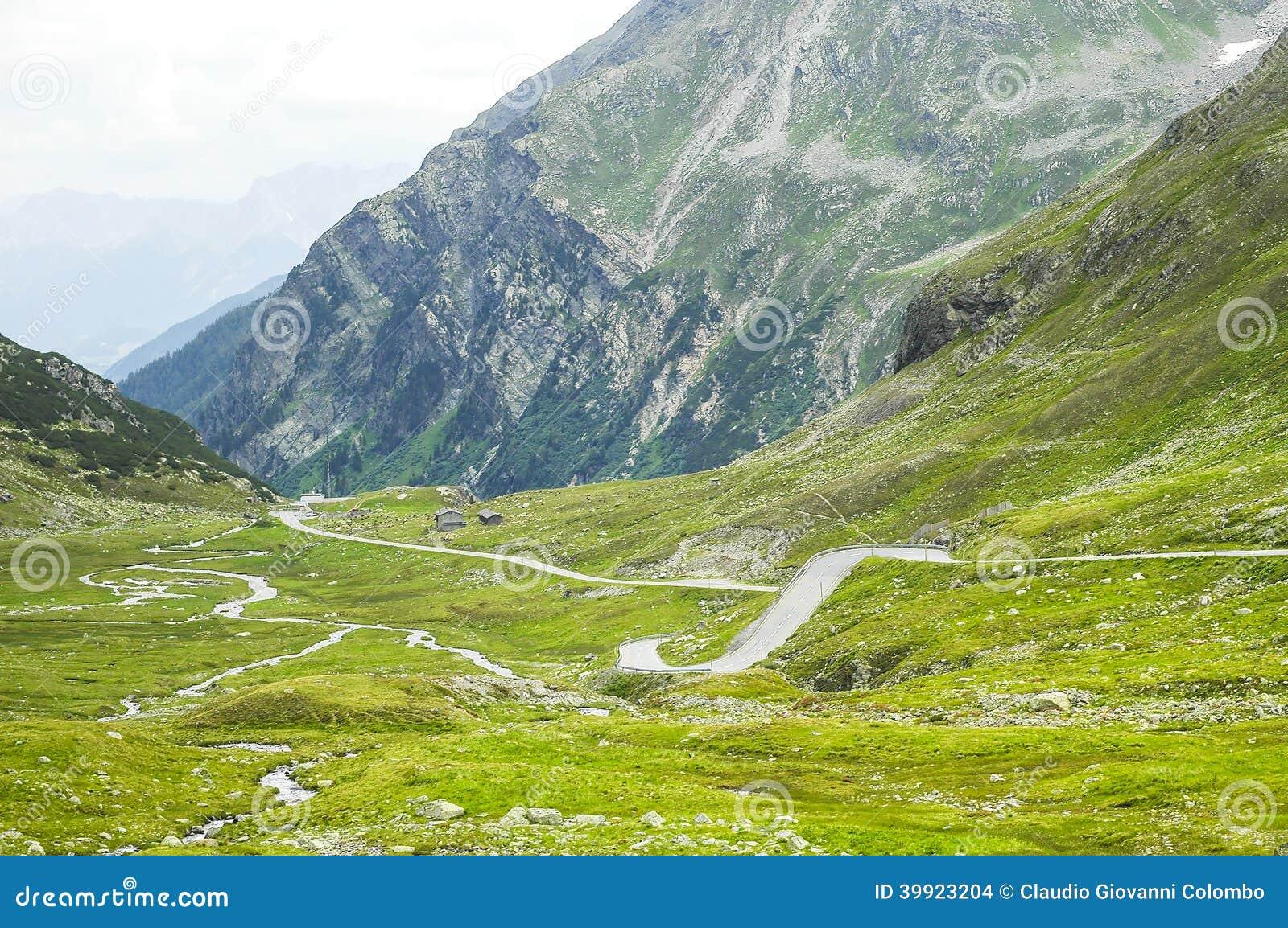 Fluela-Pass, Suisse Alps