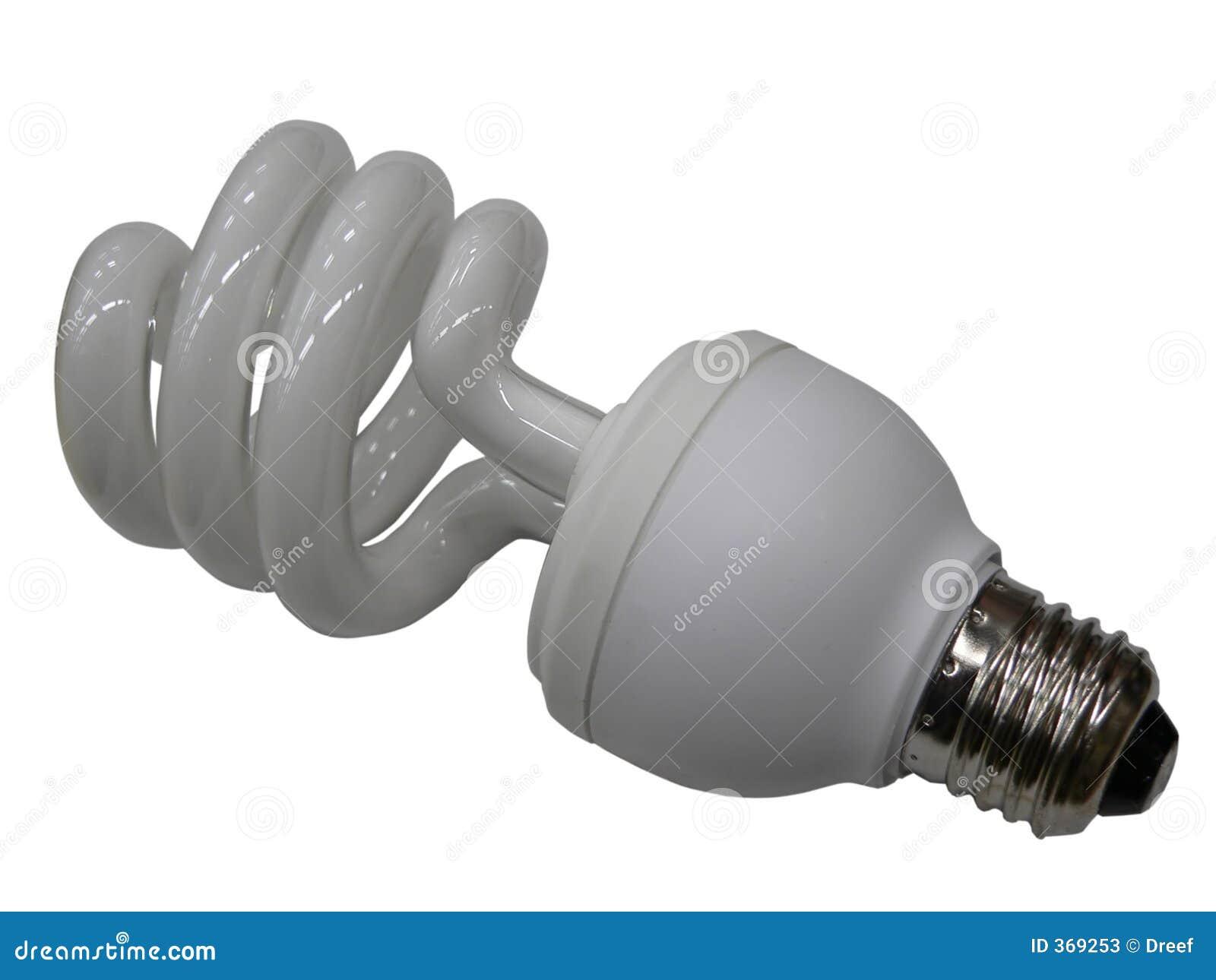 Fluerescent lampa för kula