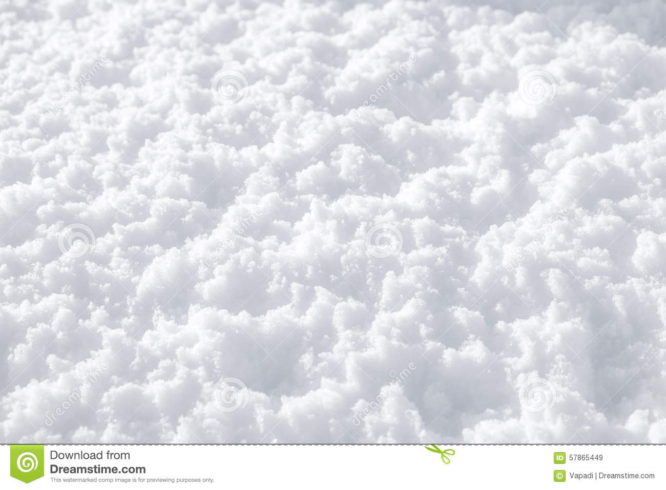 Fluffy Snow Texture Stock Photo - Image: 57865449