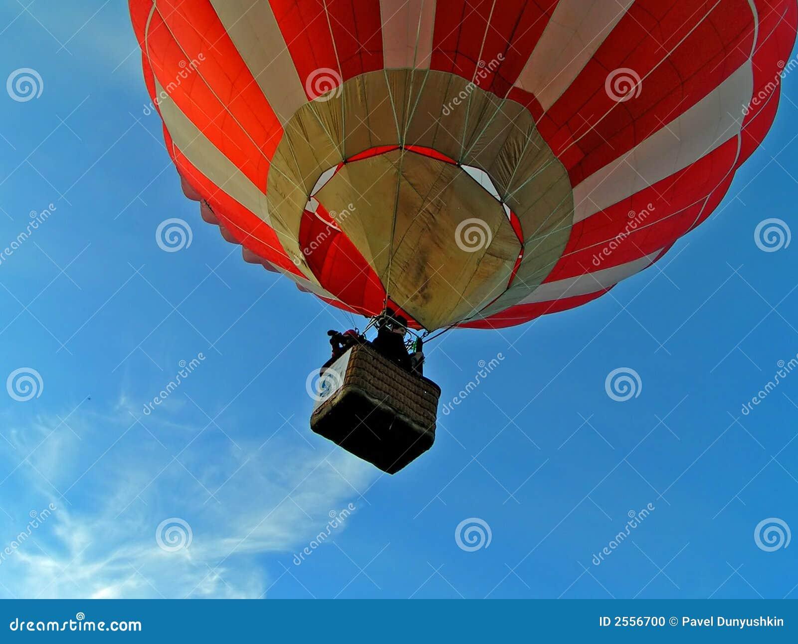 Flug auf Luftballon