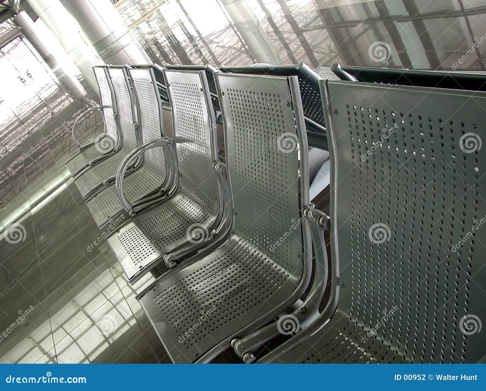 Flughafen-Aufwartung